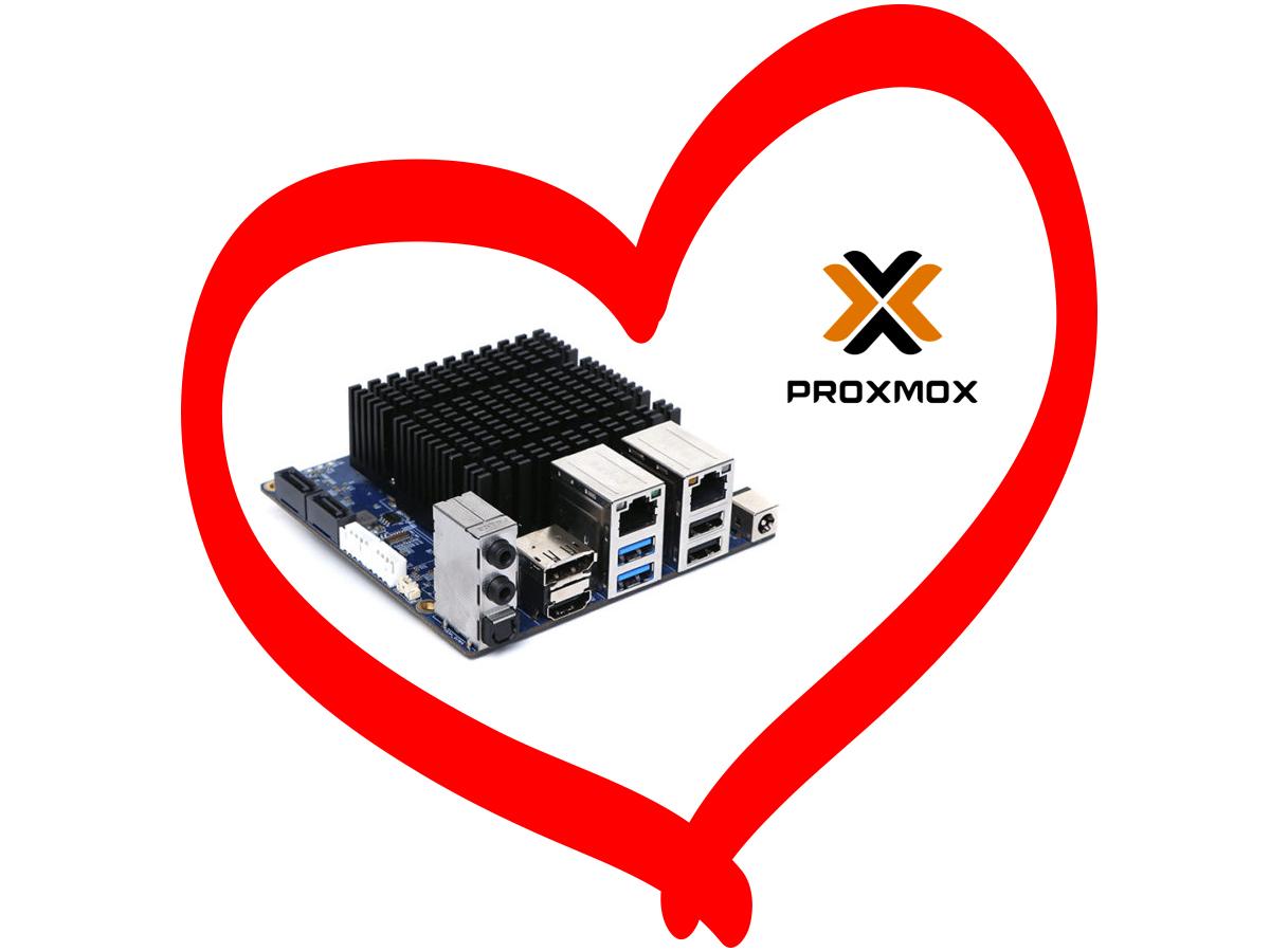 oDroid H2 Proxmox